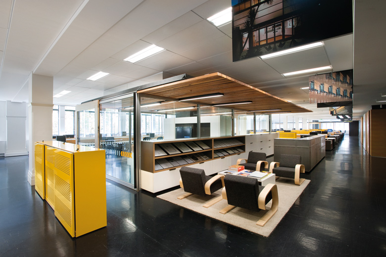 Office fitout sustainable contemporary architecture for Office fit out