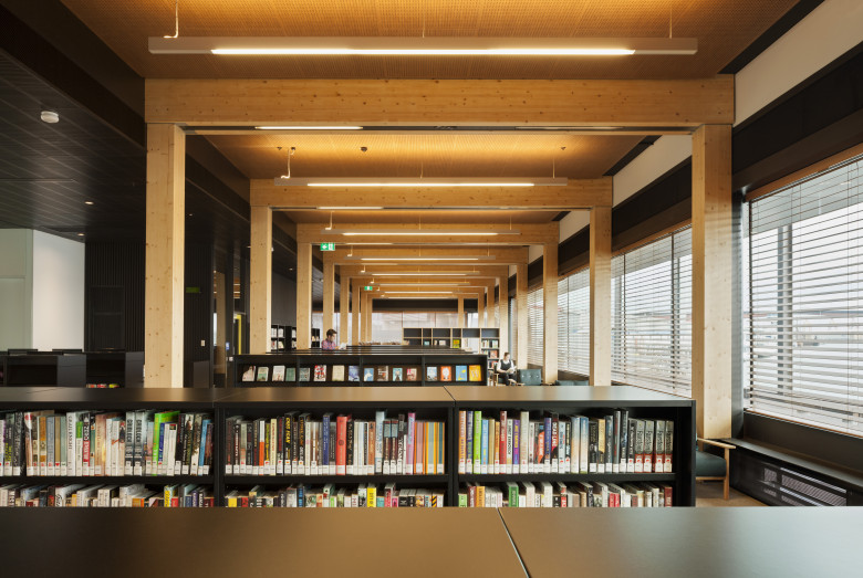Docklands Library sustainable