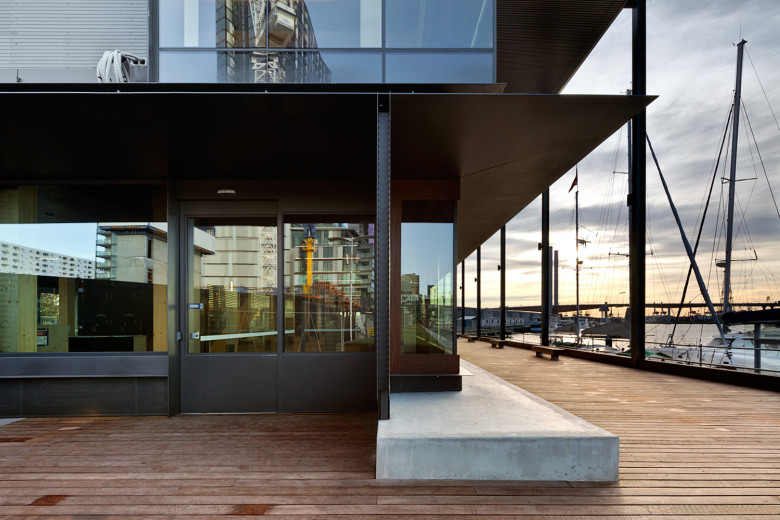 Docklands Library architecture by Clare Design