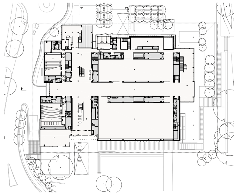 GOMA floor plan