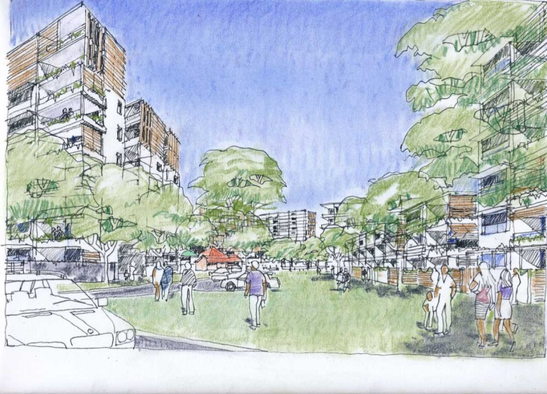 Architects plans: Yeerongpilly Green