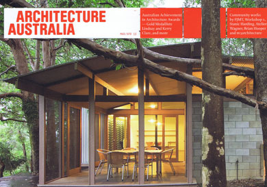 Australian architecture award winners, Kerry and Lindsay Clare