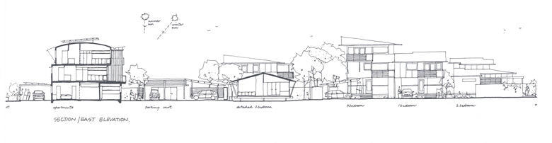 Cotton Tree House plans, Australian architecture