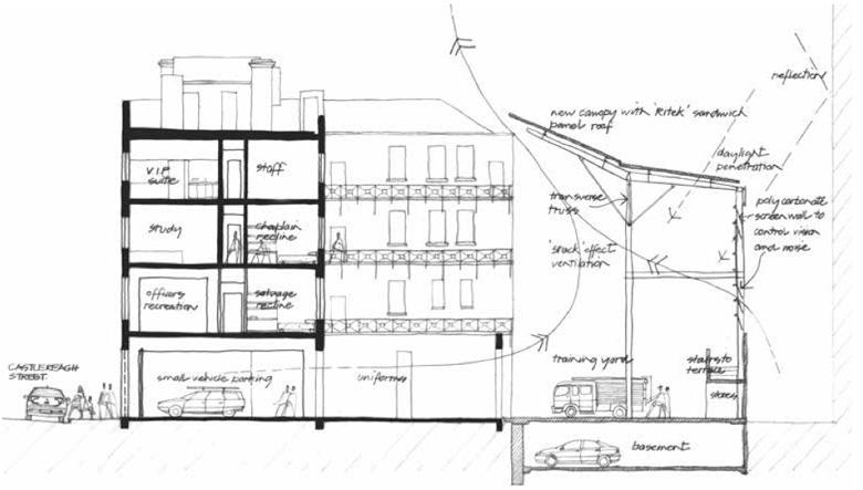 No. 1 Fire Station, architecture