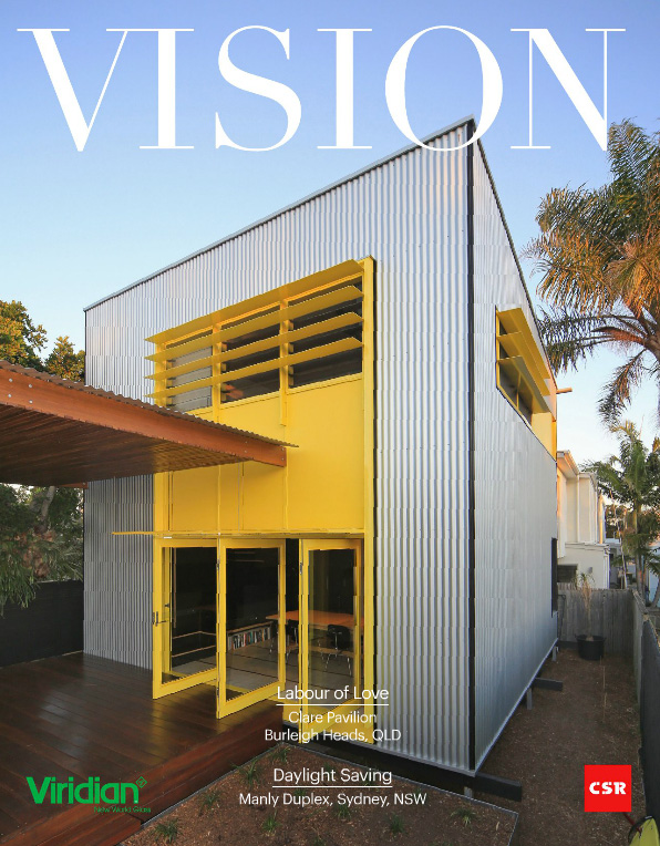 Vision Magazine, feature article on The Clares