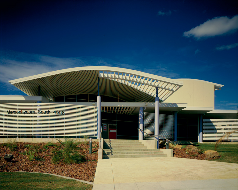 Maroochydore South post office, architecture, Australia