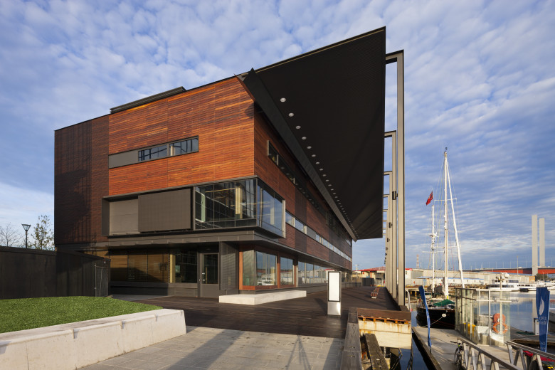Docklands Library architecture, Clare Design