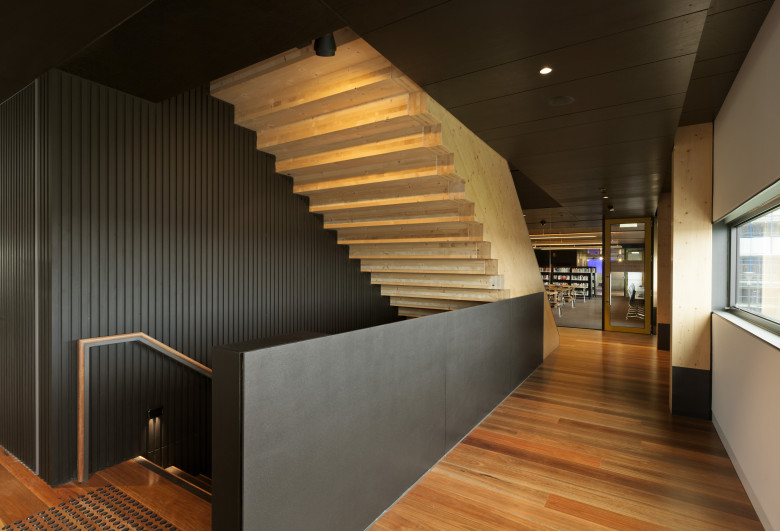 Docklands Library Melbourne, sustainable building