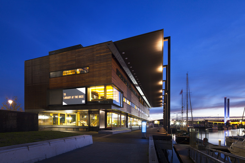 Docklands Library, architects Clare Design and Hayball